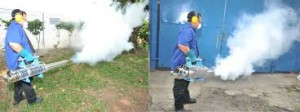 Phun Thuốc Muỗi Minh Họa