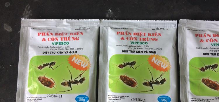 Ban Thuoc Diet Kien & Con Trung Gia Re