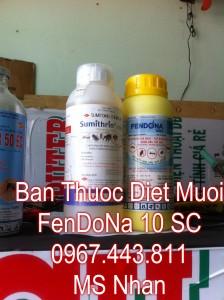 Ban thuoc Fendona 10 Sc Thuy Sy