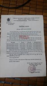 Giay Thong Bao Ve Doi Ten Thuoc PMC 90 Bot Sang PMC 90 DP