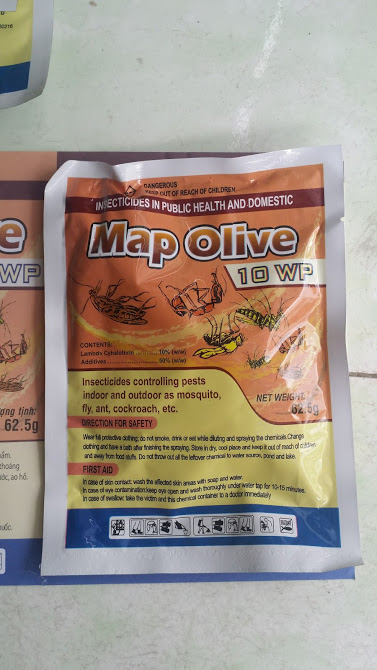 Thuoc Diet Con Trung Map Olive 10 WP Dang Bot